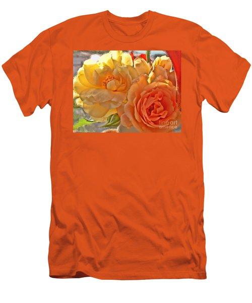 Men's T-Shirt (Slim Fit) featuring the photograph Golden Light by Debbie Portwood