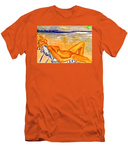 Summertime Men's T-Shirt (Athletic Fit)