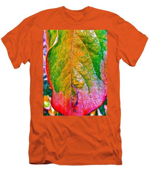Leaf 2 Men's T-Shirt (Slim Fit) by Bill Owen