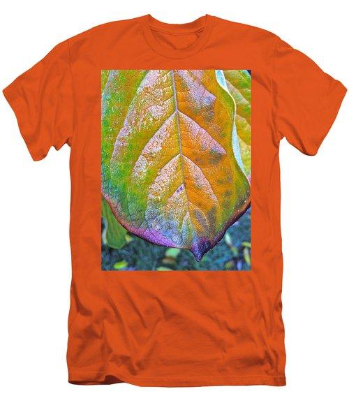 Leaf Men's T-Shirt (Slim Fit) by Bill Owen