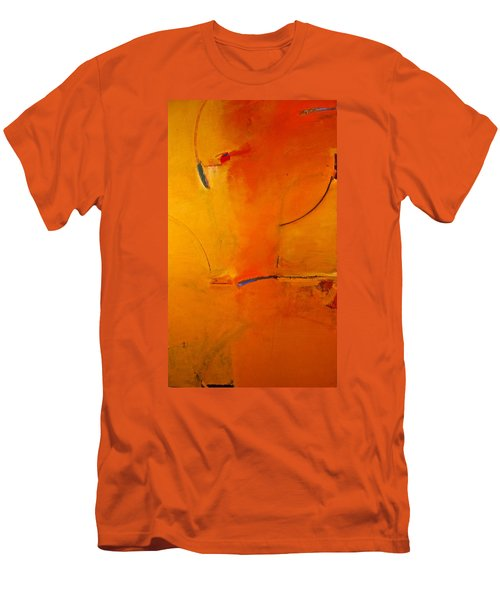 Men's T-Shirt (Slim Fit) featuring the painting Most Like Lee by Cliff Spohn