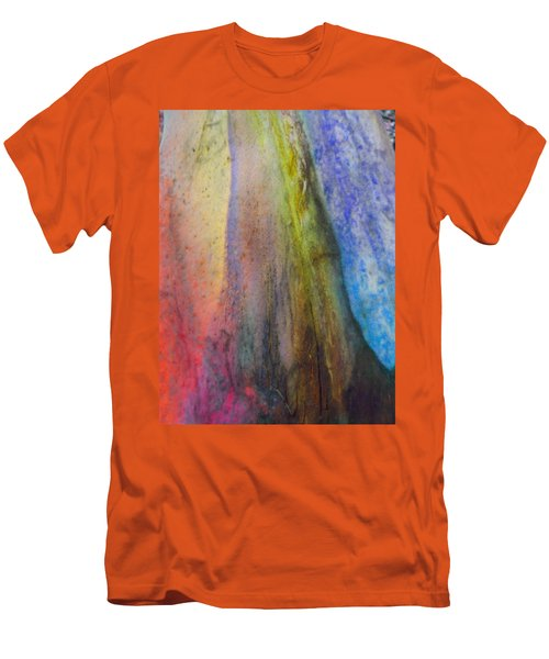 Men's T-Shirt (Slim Fit) featuring the digital art Move On by Richard Laeton