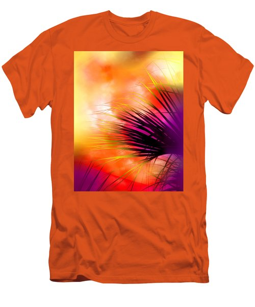 Men's T-Shirt (Slim Fit) featuring the photograph Palmetto by Judi Bagwell