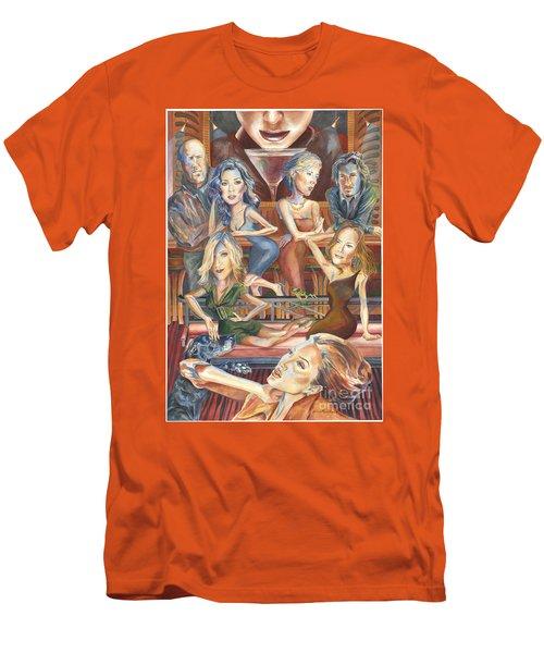 Paparazzi Paradise Men's T-Shirt (Athletic Fit)