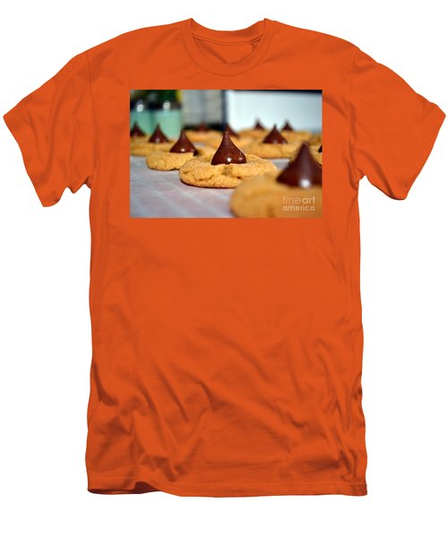 Peanut Blossoms Men's T-Shirt (Athletic Fit)