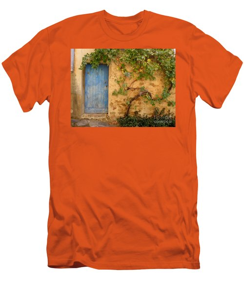 Provence Door 5 Men's T-Shirt (Slim Fit) by Lainie Wrightson
