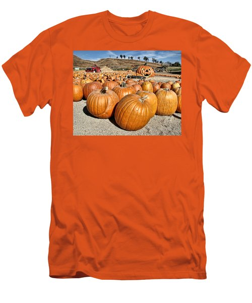 Pumpkin Patch 3 Men's T-Shirt (Athletic Fit)