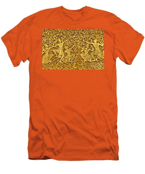 Men's T-Shirt (Slim Fit) featuring the photograph Ramayana by Luciano Mortula