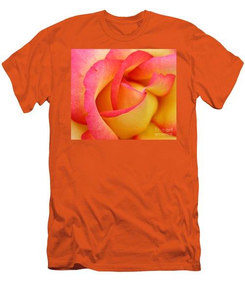 Rose 3 Men's T-Shirt (Slim Fit) by Mark Gilman