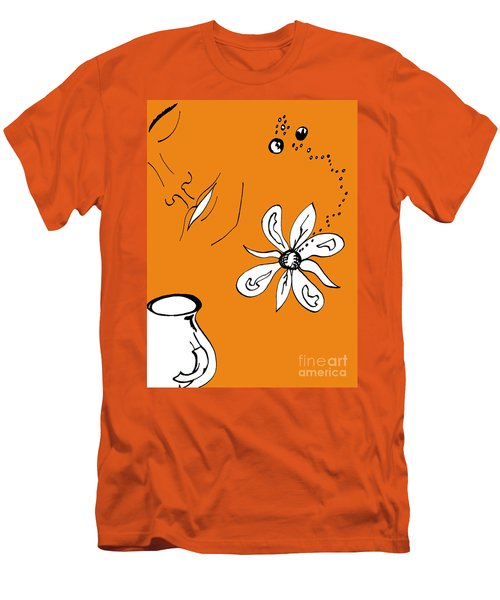 Serenity In Orange Men's T-Shirt (Athletic Fit)