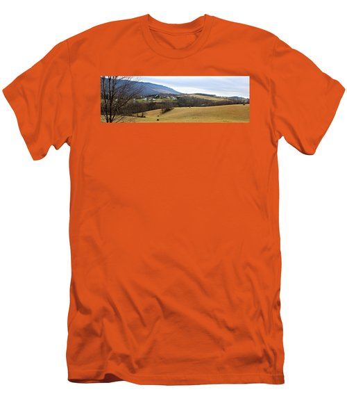 Small Town Men's T-Shirt (Slim Fit) by Kume Bryant