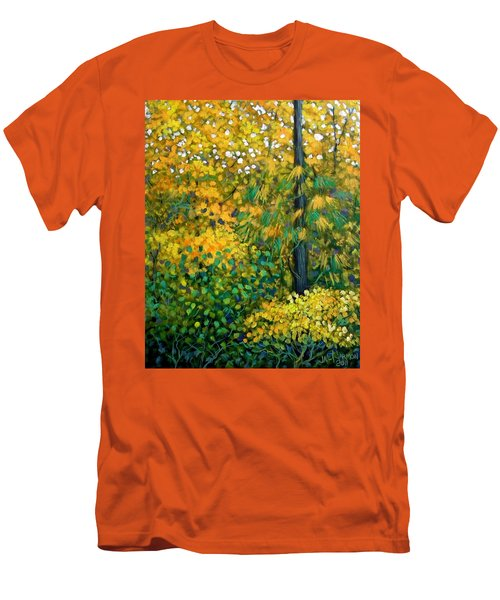 Southern Woods Men's T-Shirt (Slim Fit) by Jeanette Jarmon