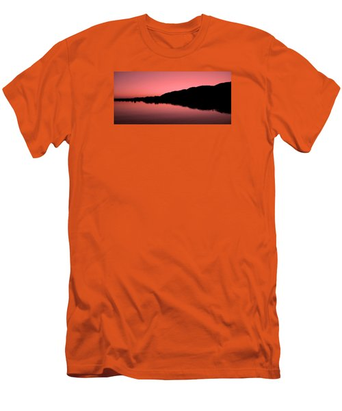 Men's T-Shirt (Slim Fit) featuring the photograph The End Of The Day ... by Juergen Weiss