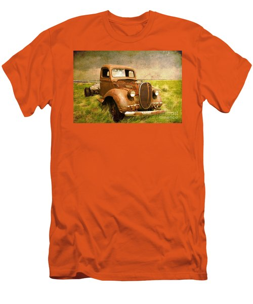 Two Ton Truck Men's T-Shirt (Athletic Fit)