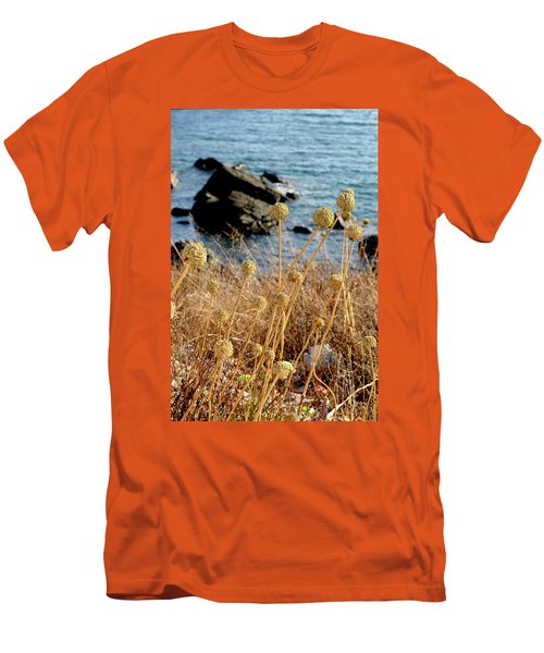 Men's T-Shirt (Slim Fit) featuring the photograph Watching The Sea 2 by Pedro Cardona