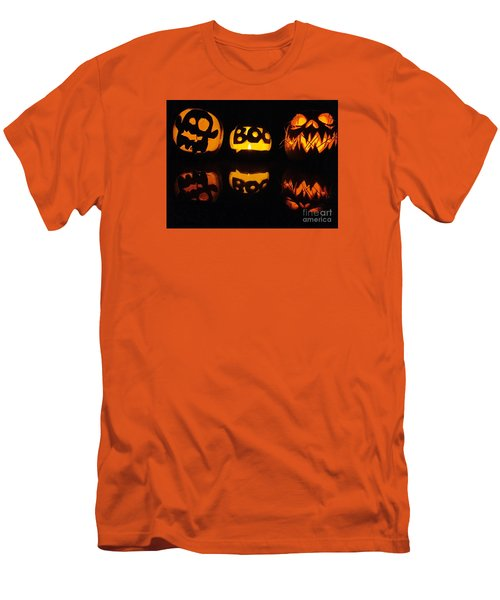 Men's T-Shirt (Slim Fit) featuring the photograph  Texas Halloween - No. 2015 by Joe Finney