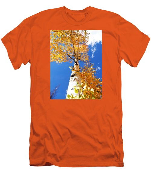 The Aspen Crown Dixie National Forest Utah Men's T-Shirt (Slim Fit) by Deborah Moen