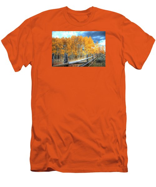 Autumn Fenced Men's T-Shirt (Athletic Fit)