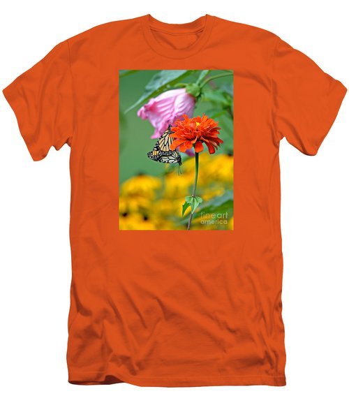 A New Beginning Men's T-Shirt (Slim Fit) by Lila Fisher-Wenzel