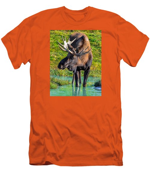 Alaska Moose 5 Men's T-Shirt (Athletic Fit)