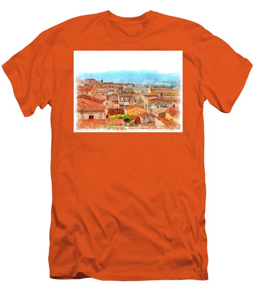 Arzachena Urban Landscape Men's T-Shirt (Athletic Fit)