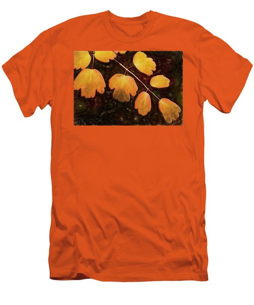 Men's T-Shirt (Athletic Fit) featuring the photograph Autumn Breeze by Paul Wear