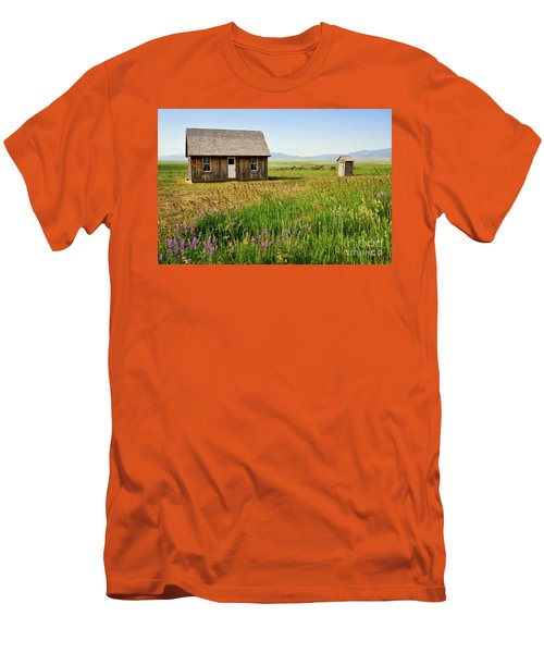 Chester Call Cabin Men's T-Shirt (Athletic Fit)