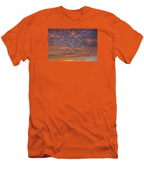 Men's T-Shirt (Slim Fit) featuring the photograph Colorful by Wanda Krack