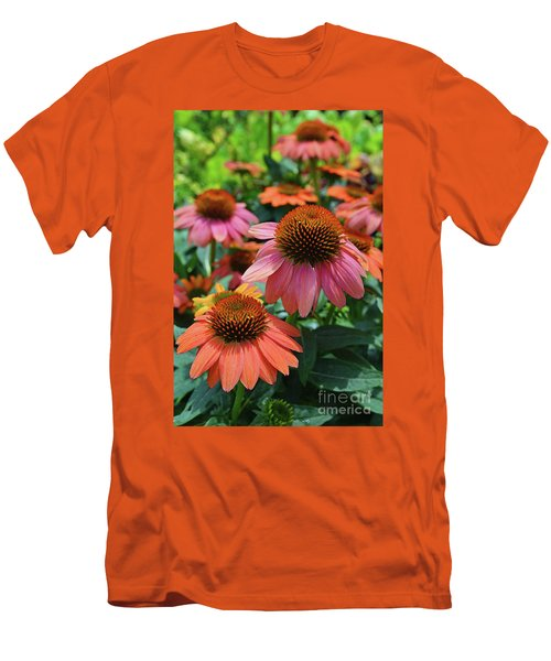 Cone Flower Men's T-Shirt (Slim Fit)