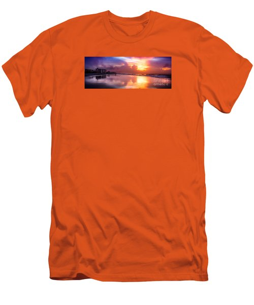 Crescent Beach September Morning Men's T-Shirt (Athletic Fit)