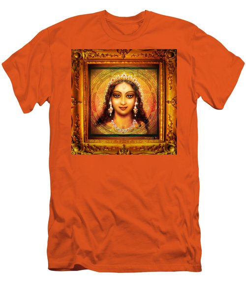 Durga In The Sri Yantra  Men's T-Shirt (Athletic Fit)
