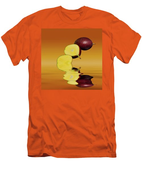 Fresh Ripe Mango Fruits Men's T-Shirt (Slim Fit) by David French