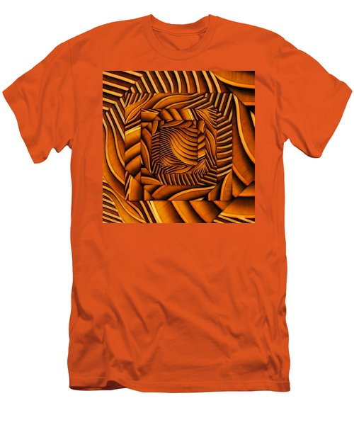 Men's T-Shirt (Slim Fit) featuring the digital art Groovy by Ron Bissett