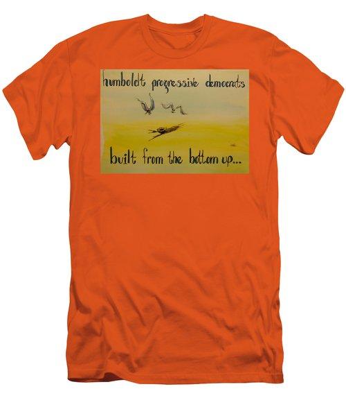 Humboldt Progressive Democrats Men's T-Shirt (Athletic Fit)