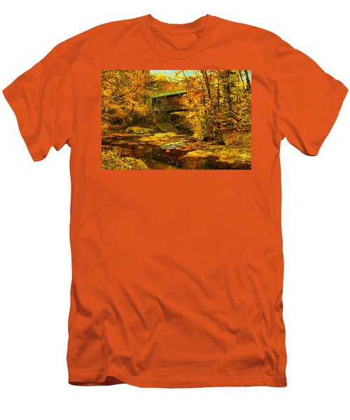 Hutchins Bridge Men's T-Shirt (Slim Fit) by John Selmer Sr