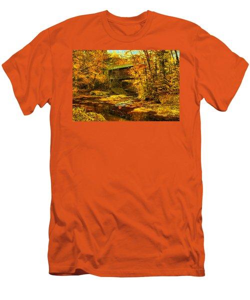 Hutchins Bridge Men's T-Shirt (Athletic Fit)