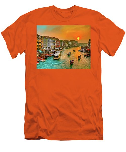 Imbarcando. Venezia Men's T-Shirt (Athletic Fit)