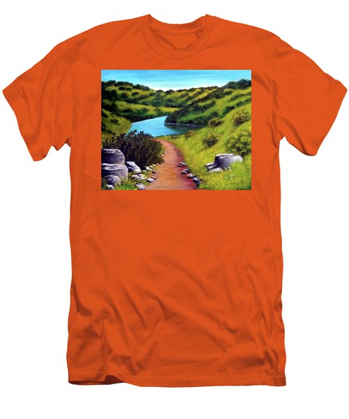 Inspiration Point Men's T-Shirt (Athletic Fit)