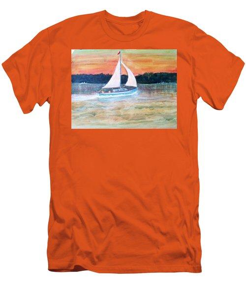 June Breeze Men's T-Shirt (Athletic Fit)