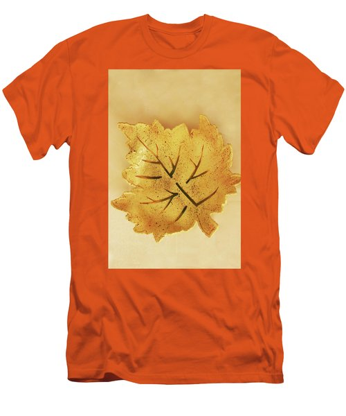 Leaf Plate2 Men's T-Shirt (Athletic Fit)