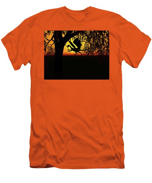 Lights And Shadow Men's T-Shirt (Slim Fit) by Michele Wilson