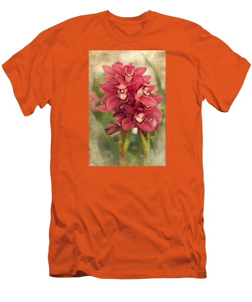 Orchid Men's T-Shirt (Slim Fit) by Catherine Lau