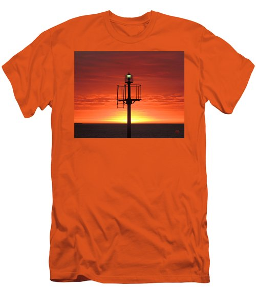 Men's T-Shirt (Slim Fit) featuring the photograph Port Hughes Lookout by Linda Hollis