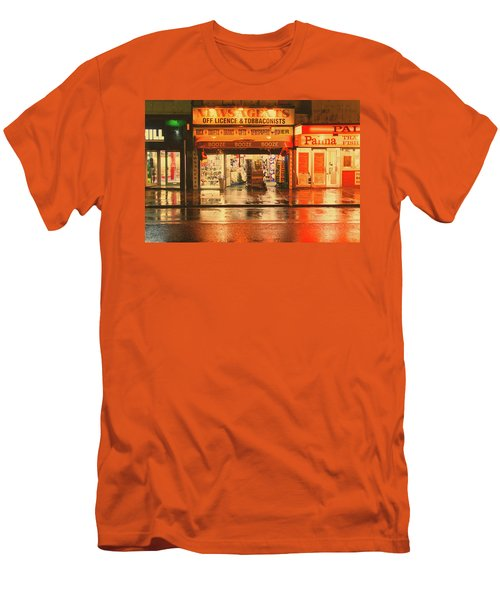 Rain Town Men's T-Shirt (Athletic Fit)
