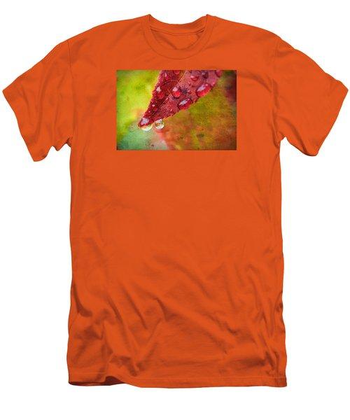 Refreshment Men's T-Shirt (Slim Fit) by Bonnie Bruno