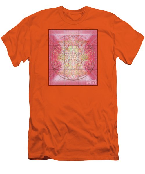 Men's T-Shirt (Slim Fit) featuring the digital art Sacred Symbols Out Of The Void 1b by Christopher Pringer