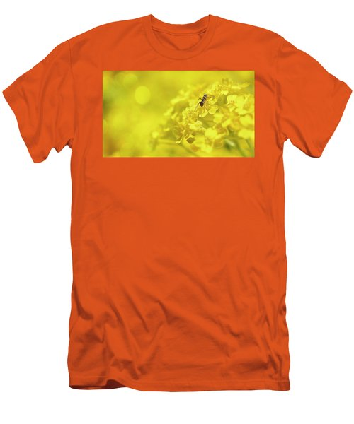 Set The Controls For The Heart Of The Sun Men's T-Shirt (Slim Fit) by John Poon