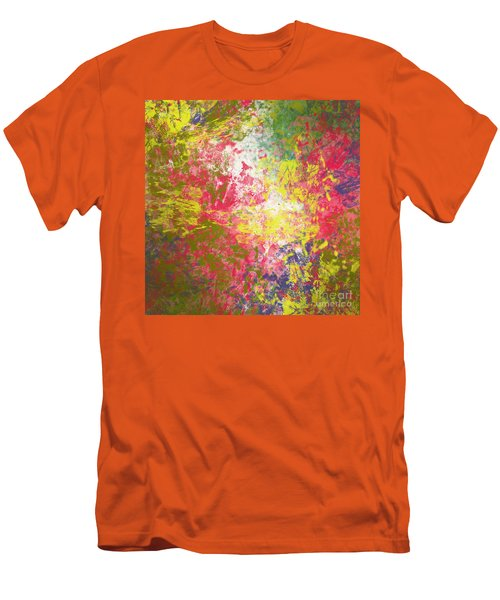 Men's T-Shirt (Slim Fit) featuring the digital art Spring Thoughts by Trilby Cole