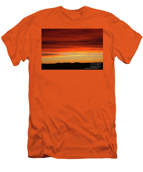The Buttes At Sundown Men's T-Shirt (Athletic Fit)