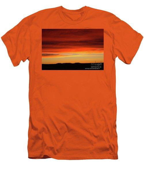 The Buttes At Sundown Men's T-Shirt (Athletic Fit)